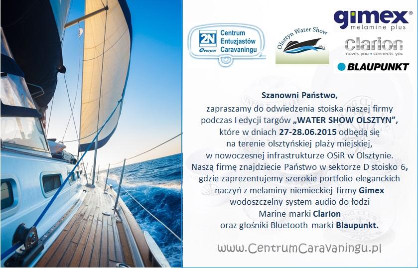 zaproszenie_WaterShowOlsztyn